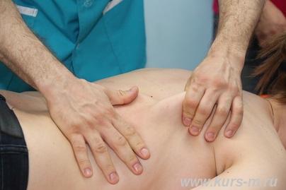 массаж при заболевании легких